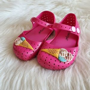 Cat & Jack Pink Jelly Ice Cream Mary Jane Shoes